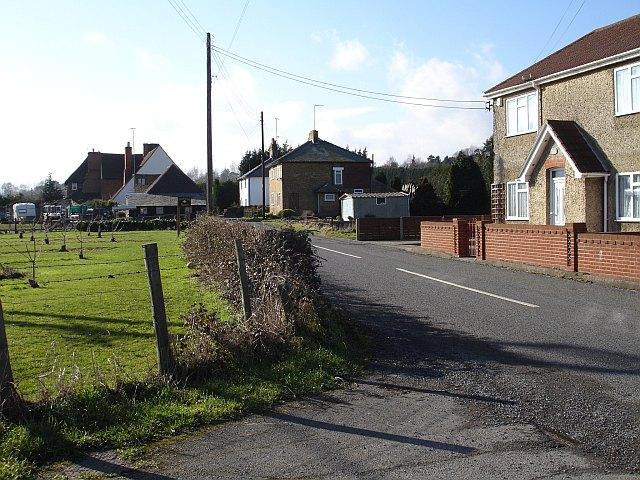 Housing on Lower Hartlip Road