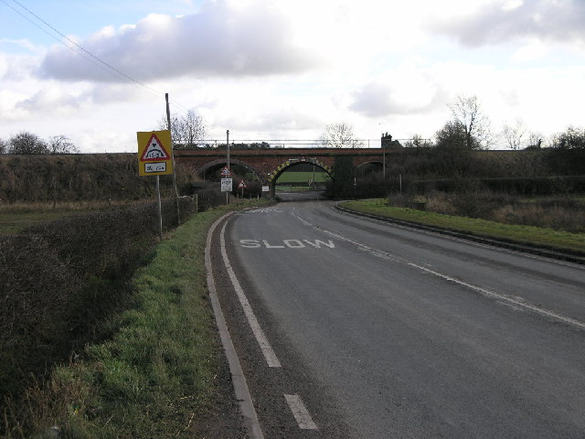 Railway Over The A513
