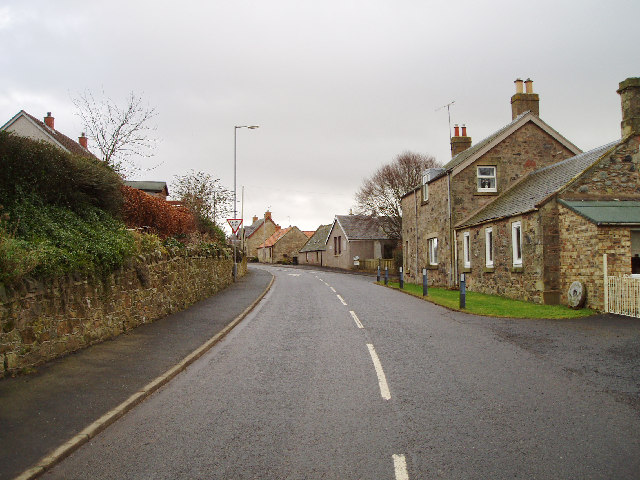 Preston Village, Berwickshire