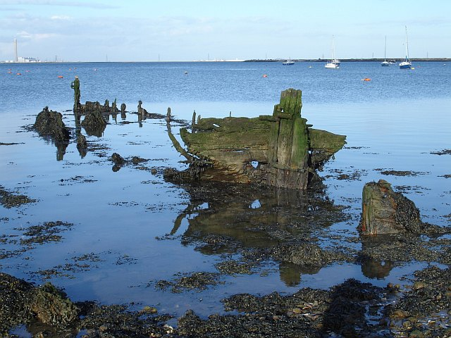 Barge remains, Lower Halstow