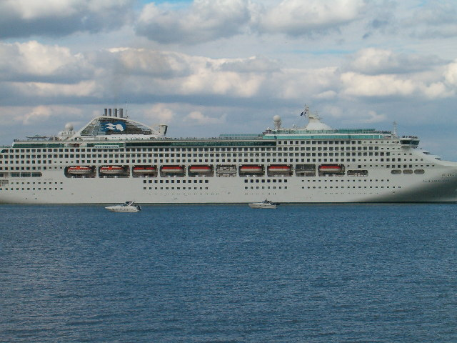 Sea Princess in the Solent