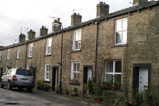 Picturesque cottages in Irwell Vale