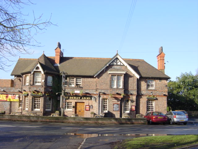 The Derby Arms, Knowsley Village