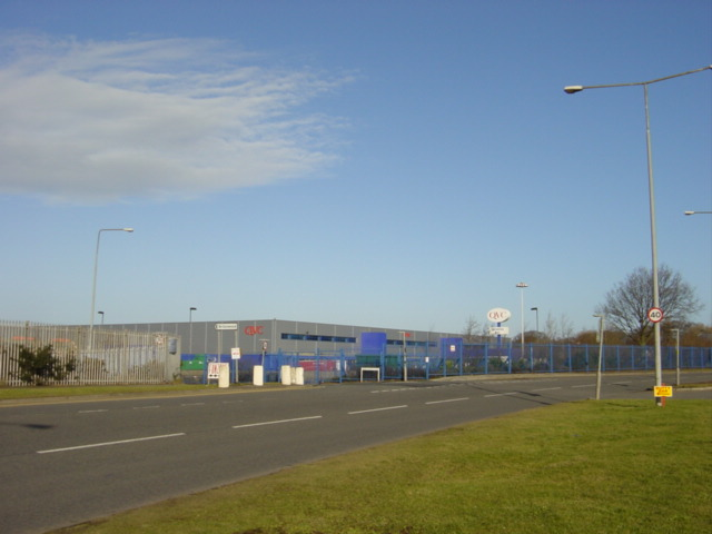 QVC  Call Centre and Warehouse, Cooper's Lane,  Kirkby