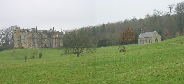Chipchase Castle and Chapel.