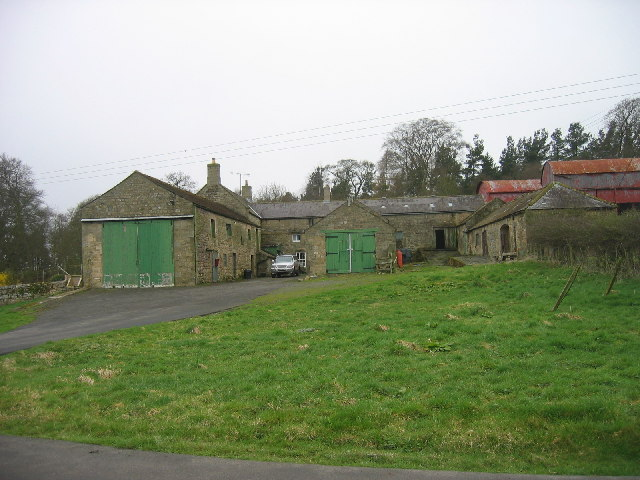 Farm buildings, Parkhouse Farm, Birtley