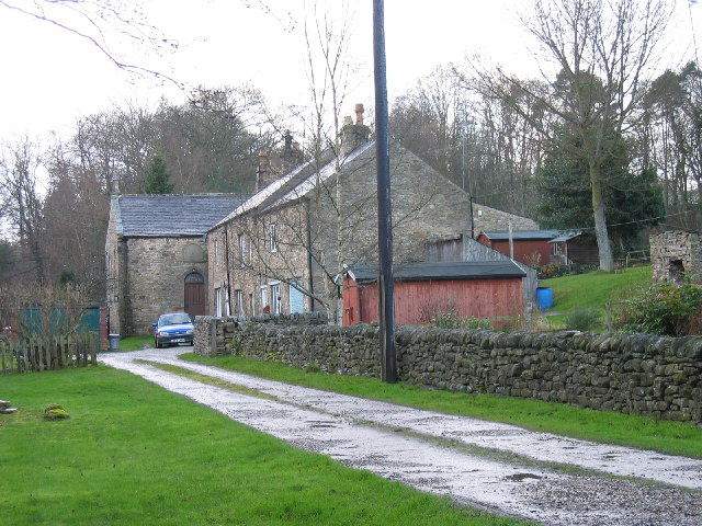 Dye House Cottages and former Methodist chapel