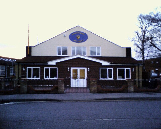 Sikh Temple, Icknield Way, Hitchin.