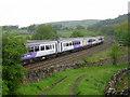 SD8265 : Train near Langcliffe by John Armitstead