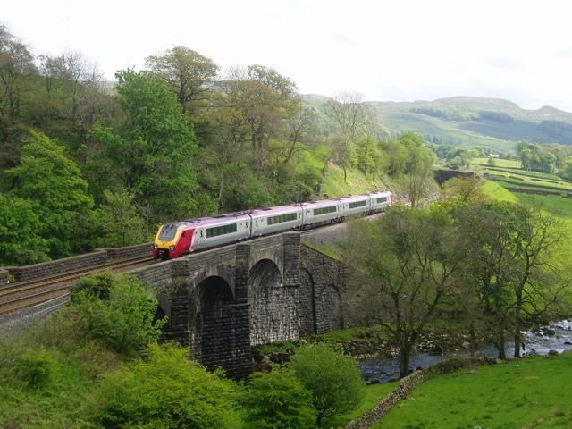 Train near Stainforth