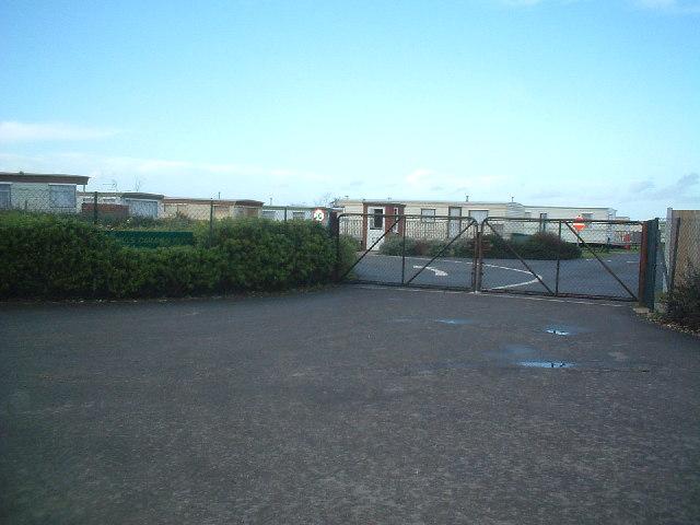 Sandhills caravan park, near Deal