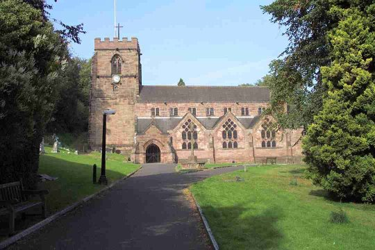 St. Michael and all Angels Church, Tettenhall