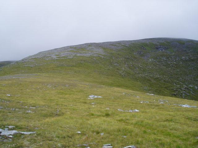 Ridge to Beinn Liath Mhor Fannaich