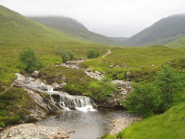 Waterfalls on Allt Breabaig