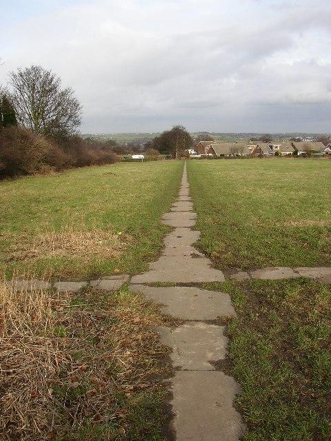 Path at Boothroyd, Rastrick, Yorkshire