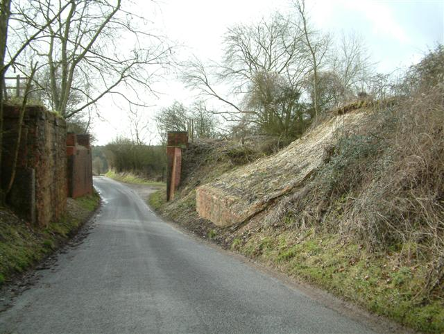 Demolished Bridges at Hat Gate