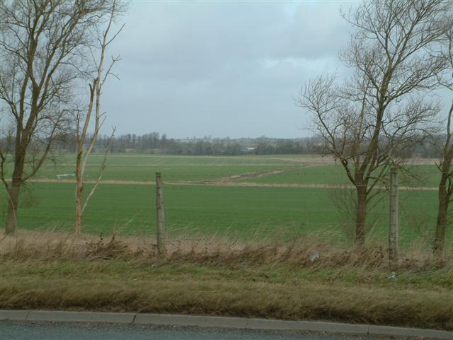 Looking North over Yatebury Field