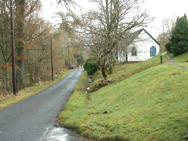 Disused chapel at Portsonachan