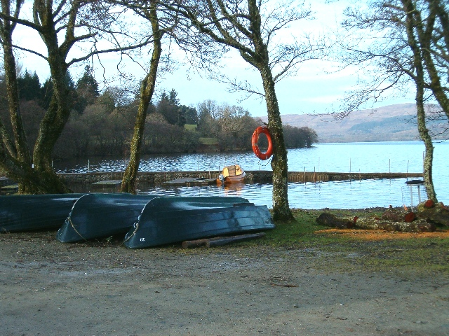 Boat hire at Ardbrecknish