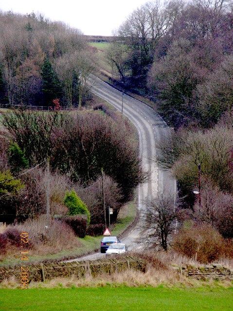 Springwell Hill between New Whittington & Eckington.