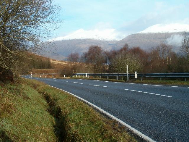 The road to Dalmally
