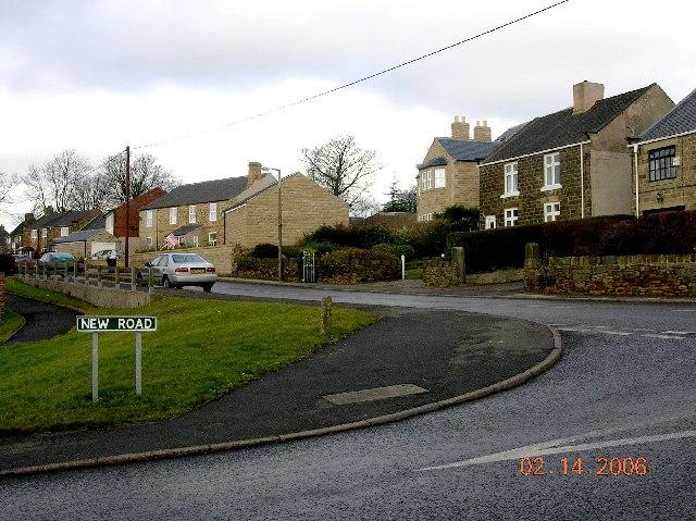 New Road, Apperknowle in NE Derbyshire