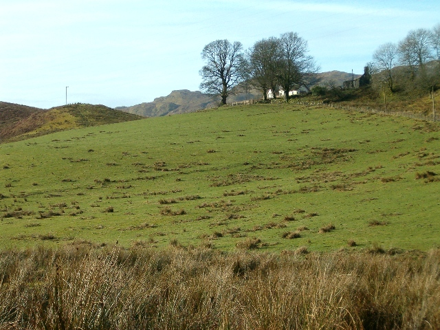 Farmland at South Tullich, Glen Aray