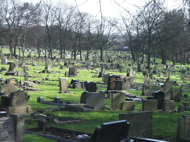 Harehills Cemetery.