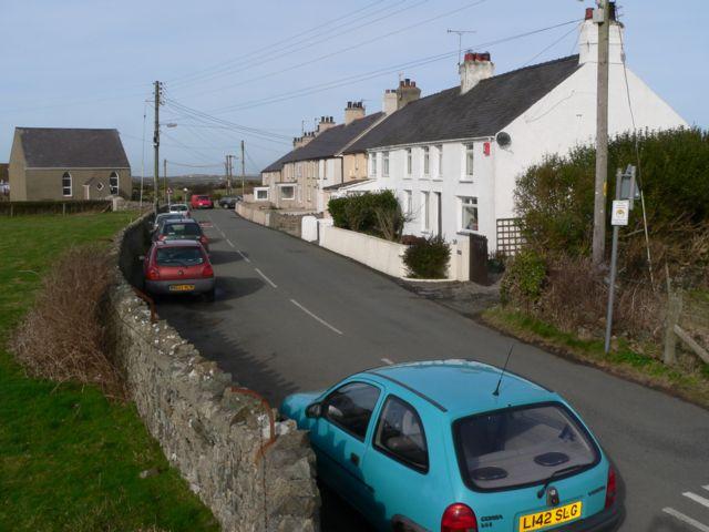 Rehoboth Terrace, Llanfaelog, Anglesey.