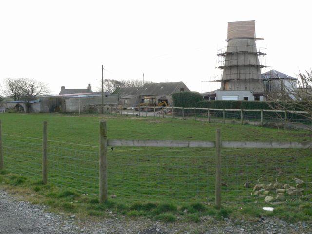 Maelgwyn Mill & Felin Uchaf, Bryn Du, Anglesey.