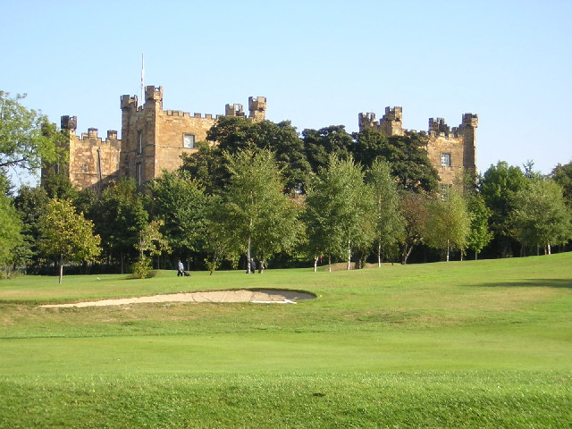Lumley Castle from Chester-le-Street Golf Course