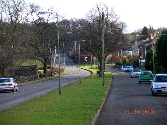 Coal Aston near Sheffield