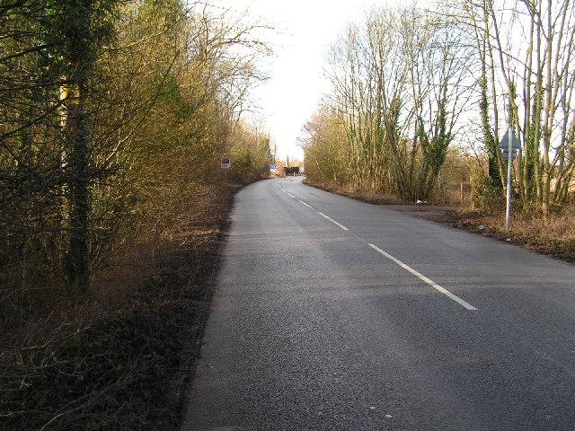 Beltring Road, near Beltring Station