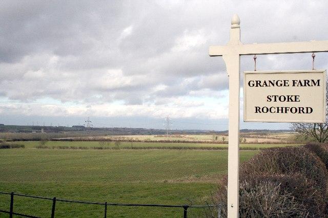 Landscape near Grange Farm