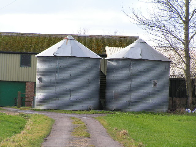 Silos, Spenny Farm