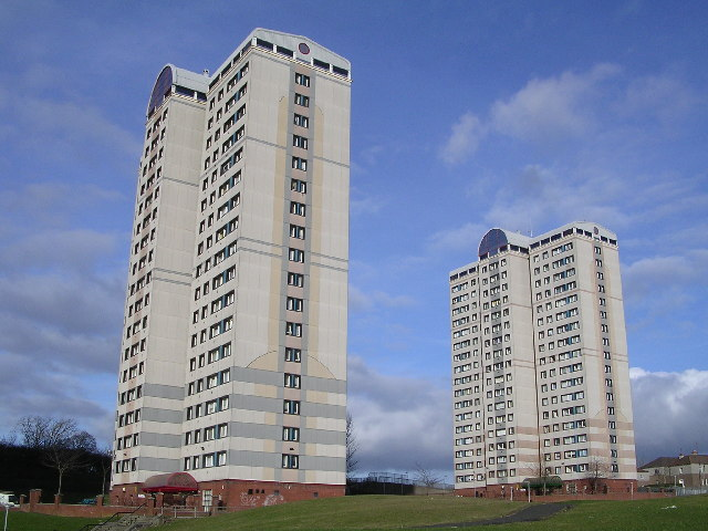 Cranhill Tower Blocks