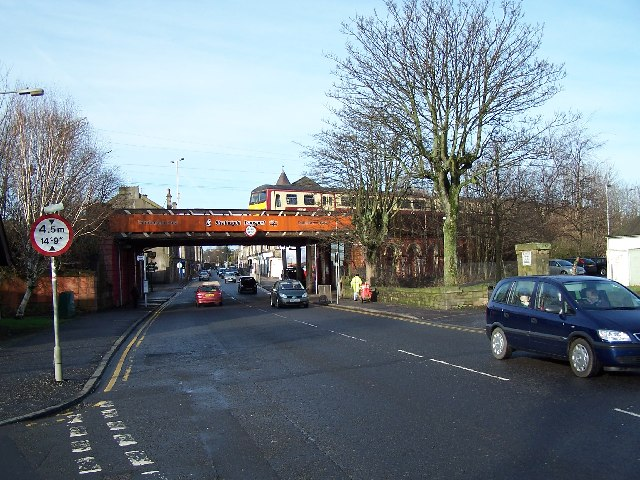 Dumbarton East , Bridge and Station