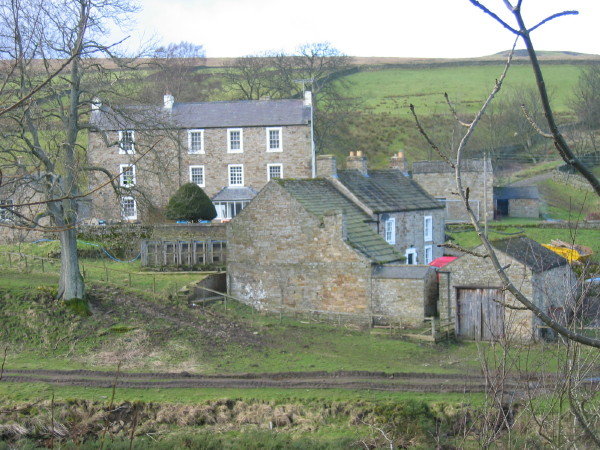 Burnstones Farmhouse (building at the back)