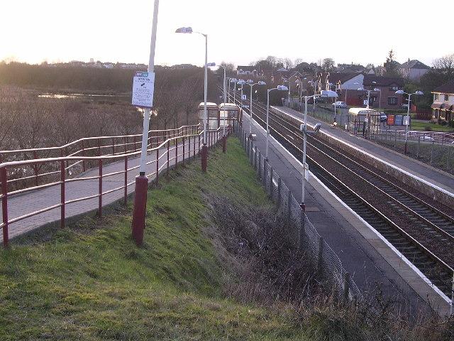 Stepps Railway Station