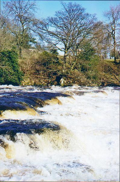 Rapids on the Ure below Aysgarth