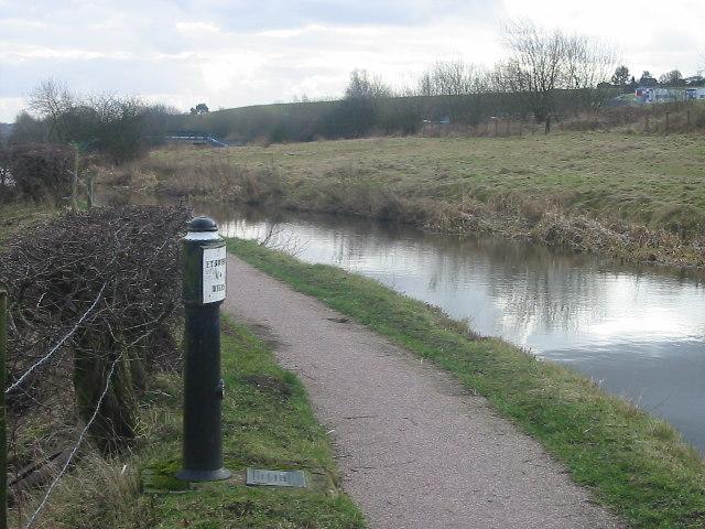 Mile Post, Caldon Canal