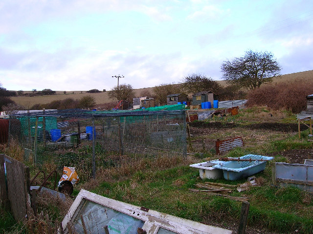 Allotments, South Heighton