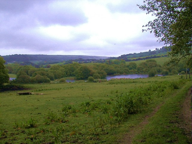 Path to Wally's Lake