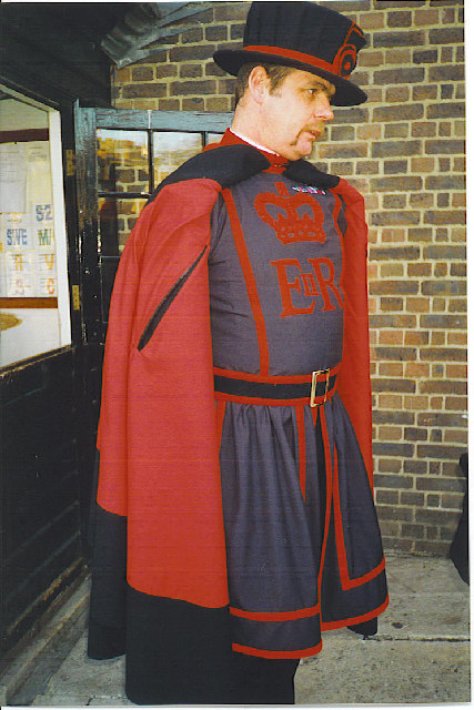 """Beefeater"", Tower of London."