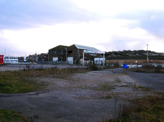Former engine sheds, Newhaven