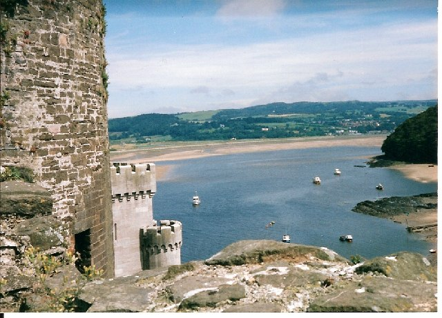 River Conwy  from the Castle