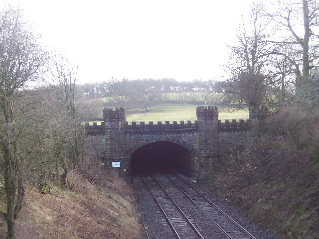 Tunnel under Gisburne Park