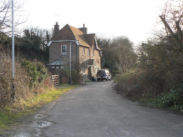 House near Cheddington Station