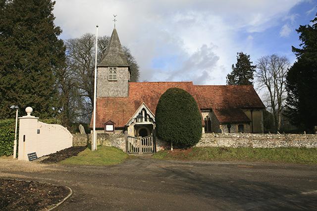 All Saints church , Houghton