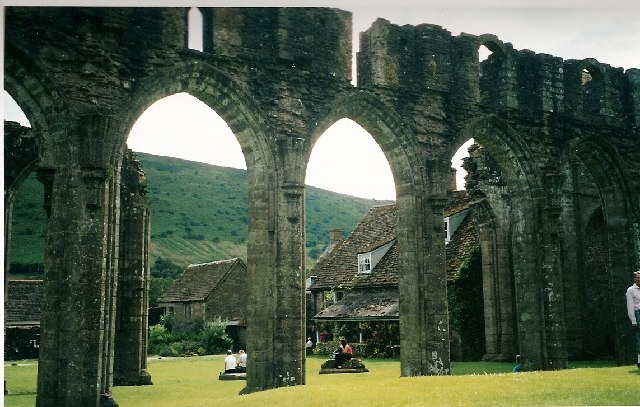 Arches at Llanthony Priory
